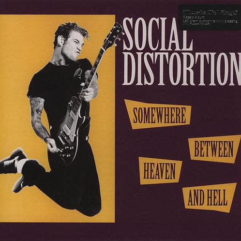 SOCIAL DISTORTION SOMEWHERE BETWEEN HEAVEN AND HELL(180 gram audiophile vinyl Li