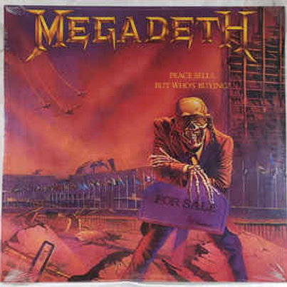Megadeth – Peace Sells...But Who's Buying? limited edition Dark Purple vinyl