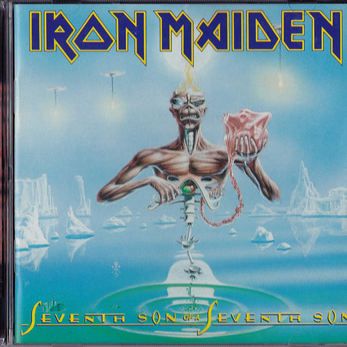 Iron Maiden ‎– Seventh Son Of A Seventh Son CD