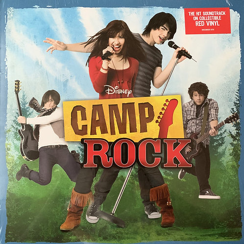 Various ‎– Camp Rock UO Exclusive red Vinyl