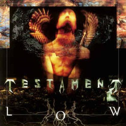 Testament – Low(Vinyl, LP, Album, Limited Edition, Numbered, Solid Orange & Yel