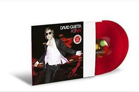David Guetta – Pop Life limited edition Red vinyl
