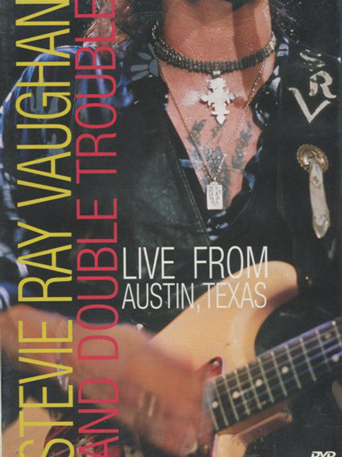 Stevie Ray Vaughan And Double Trouble*–Live From Austin, Texas (Dvd Used)