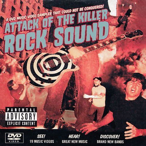 Various – Attack Of The Killer Rock Sound CD