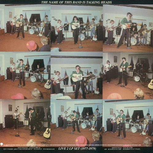 Talking Heads – The Name Of This Band Is Talking Heads (2 LP x Red Opaque vinyl