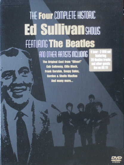 The Four Complete Historic Ed Sullivan Shows Featuring The Beatle  (Dvd Used)