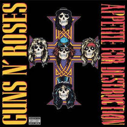 Guns N' Roses - Appetite for Destruction..(180 Gram Vinyl, Reissue) (L.P.)