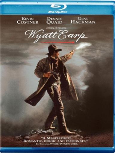 Wyatt Earp [Blu-Ray Dvd Used]