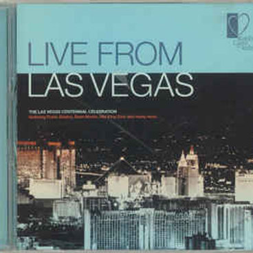 Various ‎– Live From Las Vegas (CD)