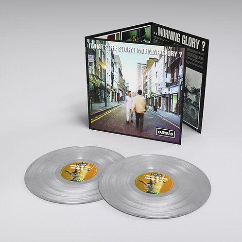 Oasis-What's The Story Morning Glory – 25th Anniversary (Colored Vinyl, Silver,