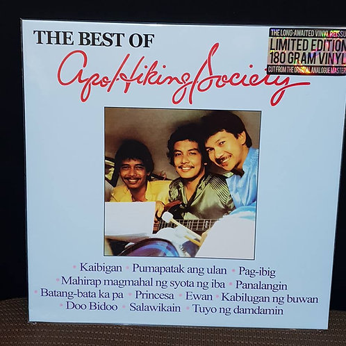 Apo Hiking Society - The Best of (OPM, LP)