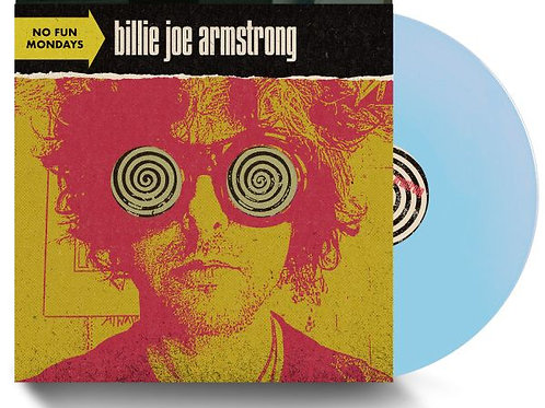Billie Joe Armstrong ‎– No Fun Mondays (Baby Blue Lp ) (Indie Exclusive