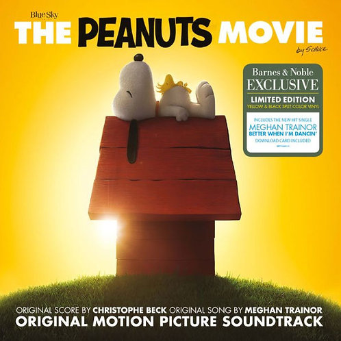 The Peanuts Movie Soundtrack [B&N Exclusive] [Yellow & Black Vinyl]