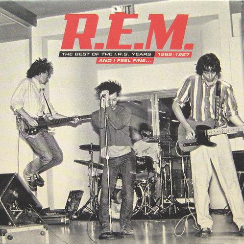 R.E.M.–And I Feel FineThe Best Of The I.R.S. CD