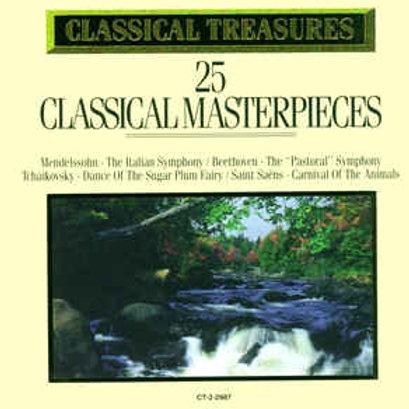 Classical Treasures: 25 Classic Masterpieces (CD)