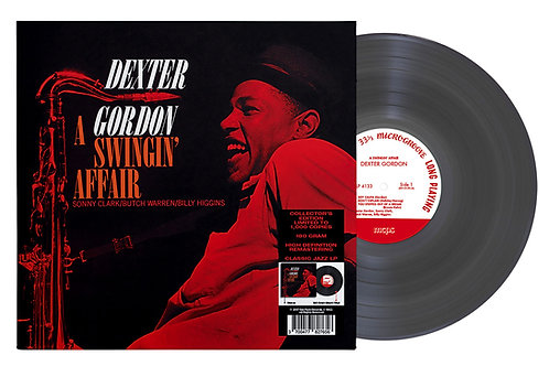 Dexter Gordon ‎– A Swingin' Affair