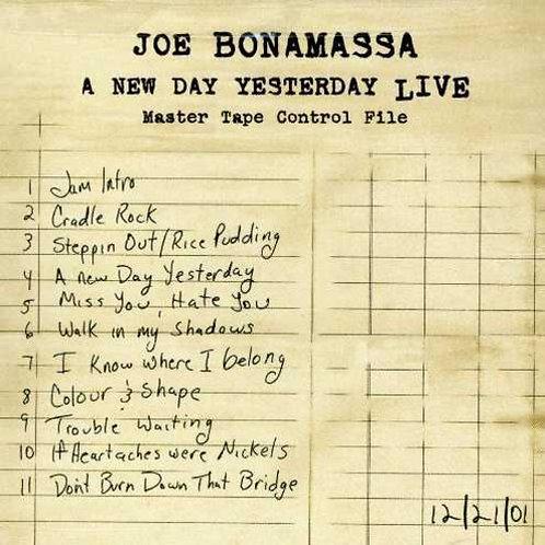 Joe Bonamassa–A New Day Yesterday Live (Dvd Used)