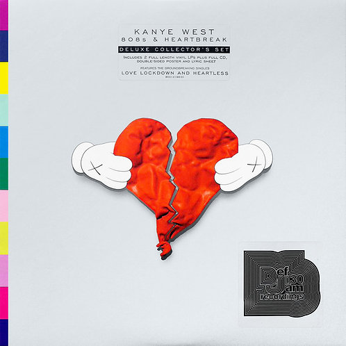 Kanye West ‎– 808s & Heartbreak 2lp plus cd