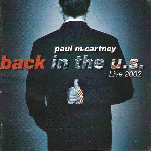 Paul McCartney – Back In The U.S. CD
