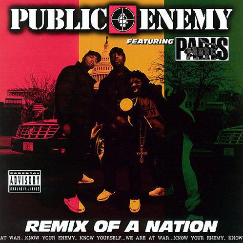 Public Enemy Featuring Paris (2) – Remix Of A Nation CD