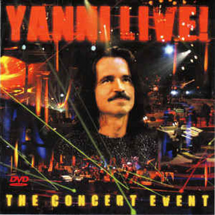 Yanni  ‎– Live! The Concert Event (Dvd Used)