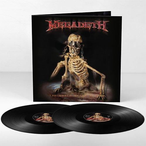 Megadeth – The World Needs A Hero(2 × Vinyl, LP, Album, Reissue, Remastered)