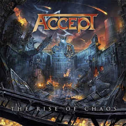 Accept - The Rise Of Chaos (Limited Edition, Gatefold LP Jacket, Blue, Orange, 2