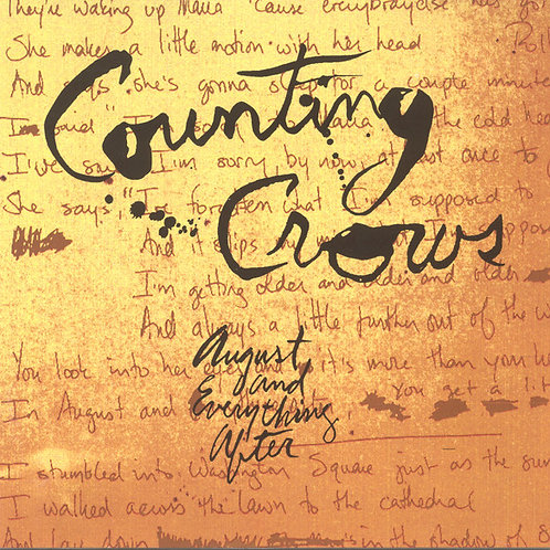 Counting Crows ‎– August And Everything After CD