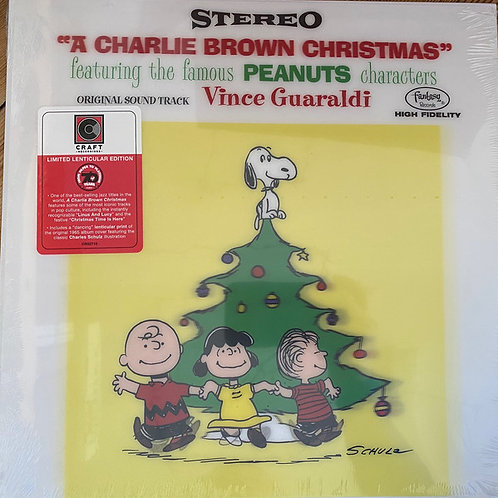 Vince Guaraldi Trio ‎– A Charlie Brown Christmas 70th anniv edition lenticular s