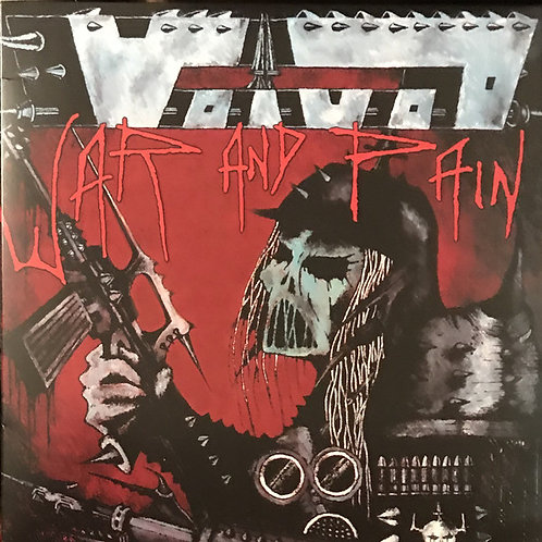 Voïvod – War And Pain Limited to 500 copies only
