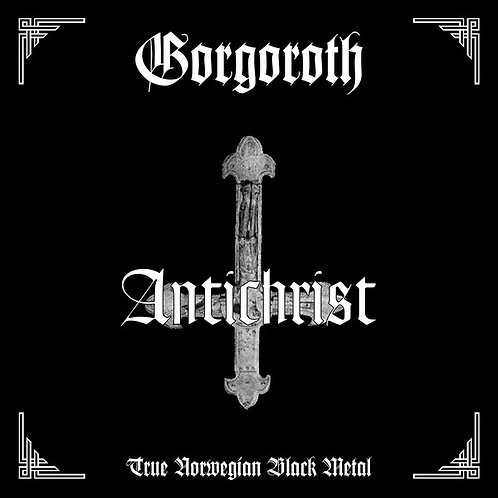 Gorgoroth ‎– Antichrist CD