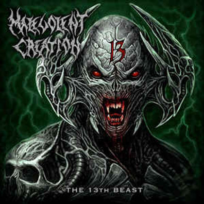 Malevolent Creation – The 13th Beast Limited Edition 300 copies silver vinyl