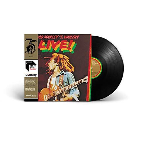 Bob Marley & The Wailers ‎– Live! Half-Speed Mastering Series
