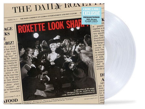 Roxette – Look Sharp! [BN Exclusive] [Clear Vinyl]