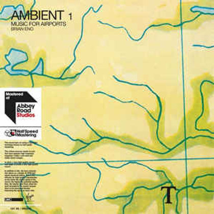 AMBIENT 1: MUSIC FOR AIRPORTS by ENO,BRIAN (Lp)