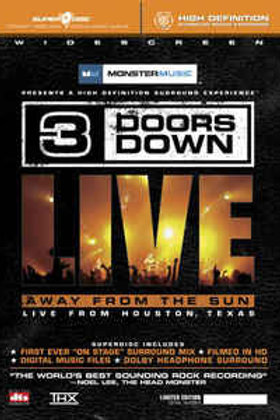 3 Doors Down ‎– Away From The Sun - Live From Houston, Texas (Dvd Used)