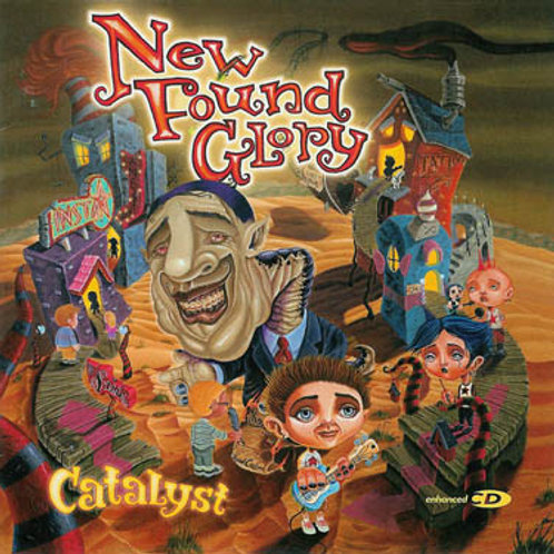 New Found Glory ‎– Catalyst CD