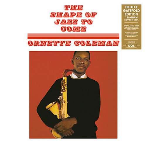 Ornette Coleman ‎– The Shape Of Jazz To Come LP