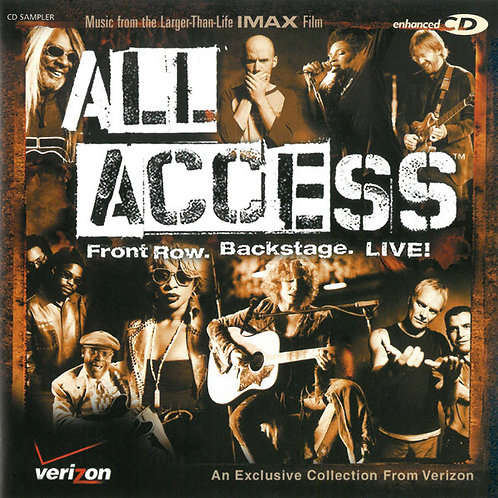 Various – All Access - Front Row. Backstage. Live! CD
