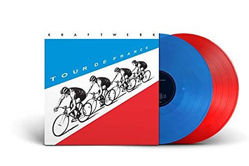 Kraftwerk ‎– Tour De France coloured lp