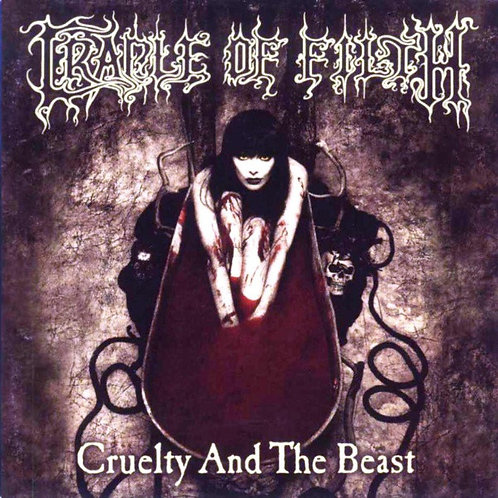 Cradle Of Filth ‎– Cruelty And The Beast CD