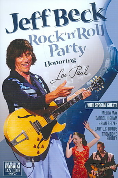 Jeff Beck ‎– Rock 'n' Roll Party: Honoring Les Paul (Dvd Used)