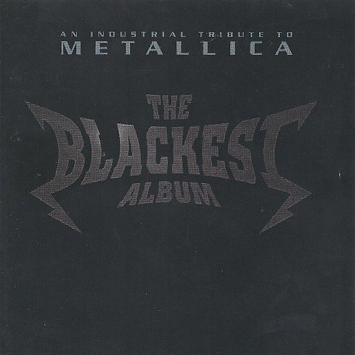 Various ‎– The Blackest Album / An Industrial Tribute To Metallica CD