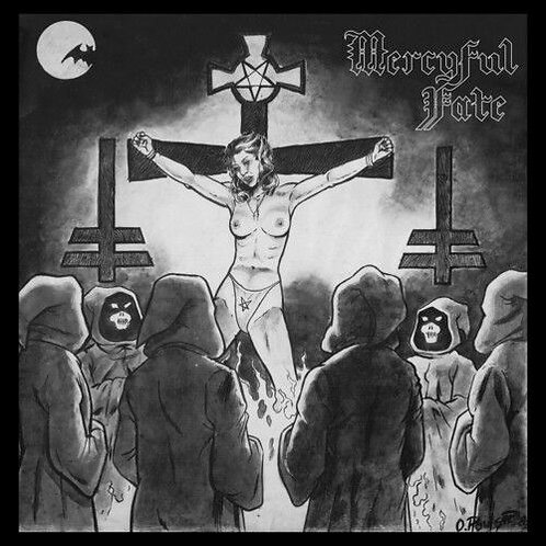 Mercyful Fate – Mercyful Fate Limited Edition, Reissue, Clear With Black Smoke