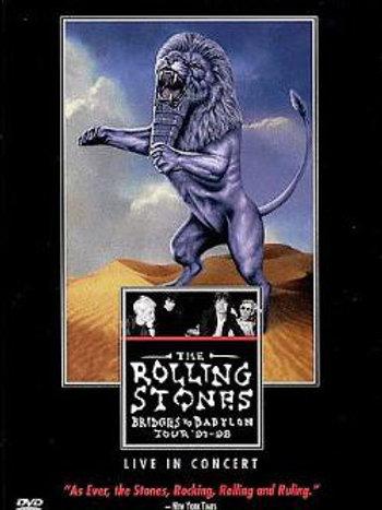 The Rolling Stones–Bridges To Babylon Tour (Dvd Used)
