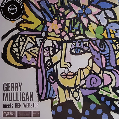 Gerry Mulligan, Ben Webster ‎– Gerry Mulligan Meets Ben Webster