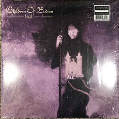 Children Of Bodom ‎– Hexed purple vinyl limited to 1000 copies only