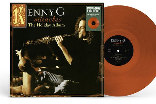 Kenny G  – Miracles - The Holiday Album [B&N Exclusive] [Translucent Red Vinyl]