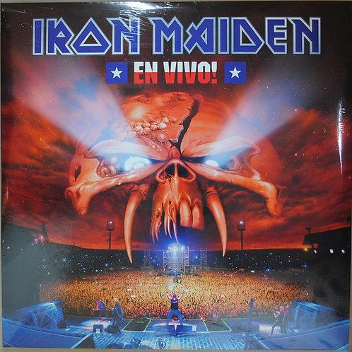 Iron Maiden – En Vivo! 3x lp