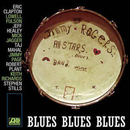 The Jimmy Rogers All-Stars ‎– Blues Blues Blues(Limited Edition, Reissue )